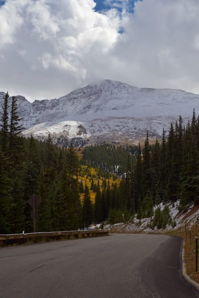 Mount Bierstadt from Guanella Pass Road