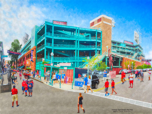 Boston Baseball, Fenway Park - The Gallery Wrap Store