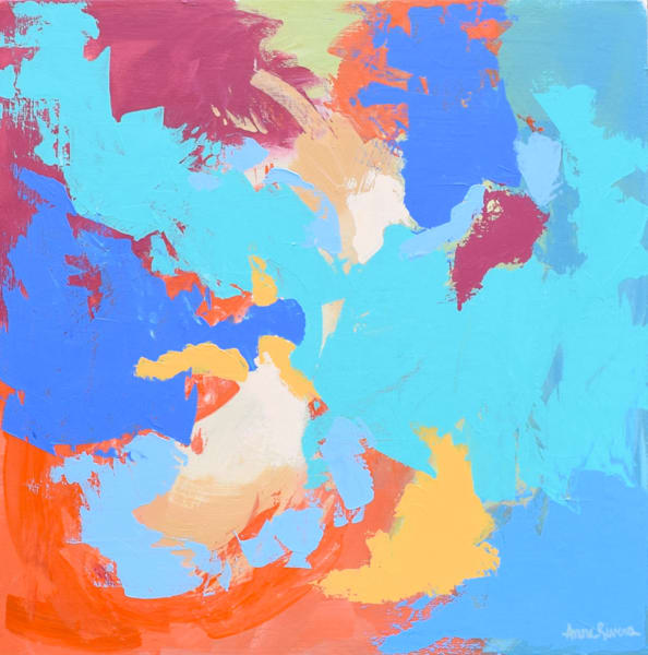 Secrets Abstract Paintings Art for sale   Anne Rivers