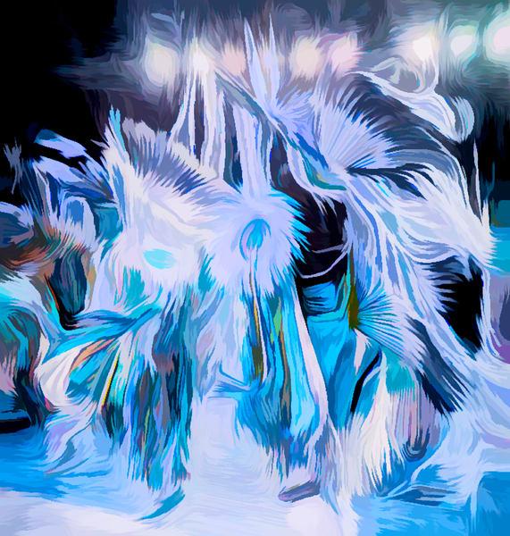 Art Photograph Pow Wow Dancer v2 fleblanc