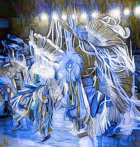 Art Photograph Pow Wow Dancer v1 fleblanc