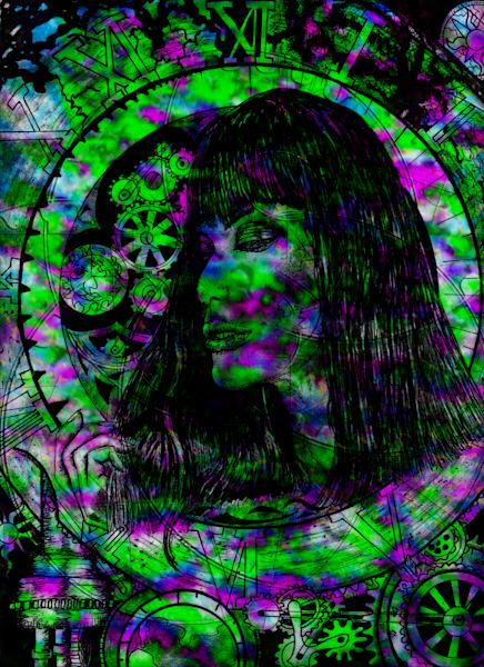 Dream Clock Digital Art | CMS Art Prints