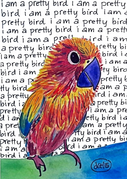 Pretty Bird Art For Sale