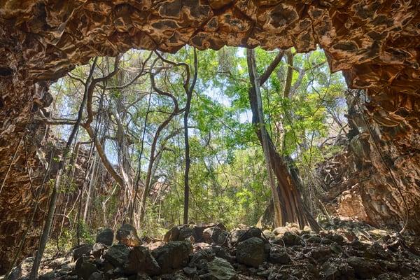 Archway Lava Tube, Undara, Australia