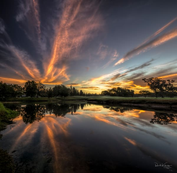 Sunrise Explosion Photographic Art