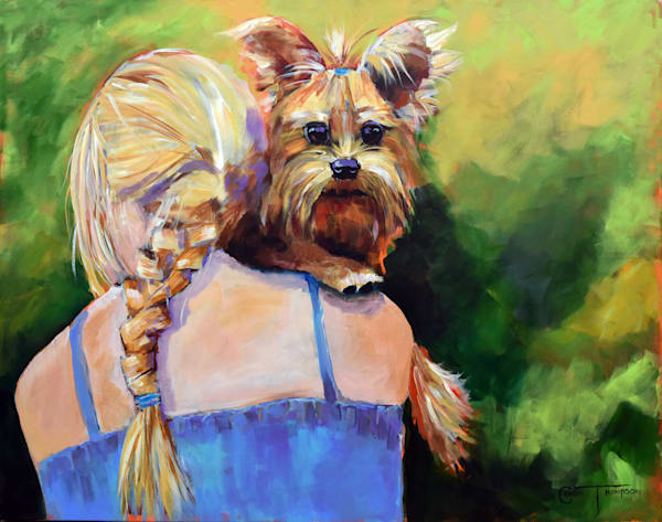 Reproduction of original watercolor and acrylic paintings of dogs, cats, turtles