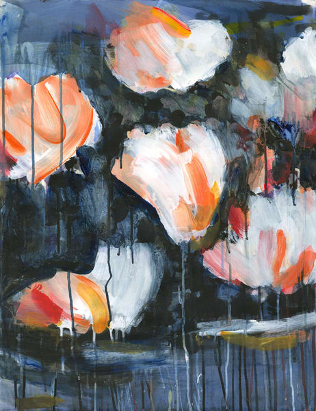 Mud & Peonies Ii   Canvas Art | Caroline Wright Art