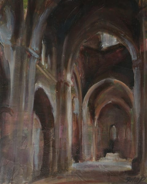 Prints of Lerida Spain Cathedral Interior
