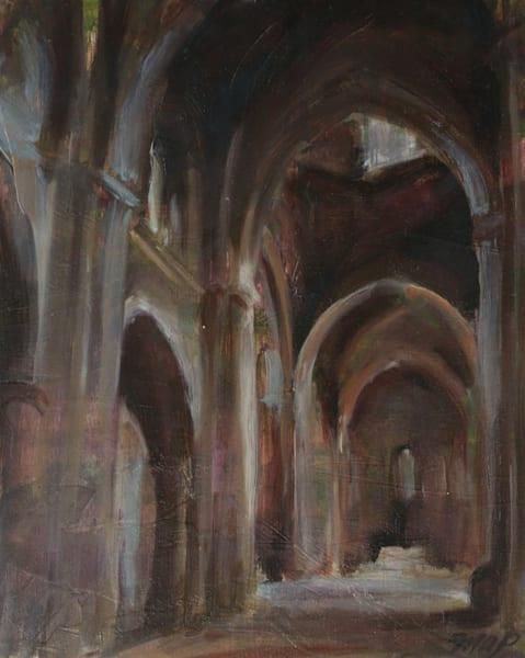 Prints of Lerida Spain Cathedral Interior