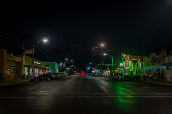 Arizona, Photography, nocturne, Kingman, nightscape, cityscape, southwest