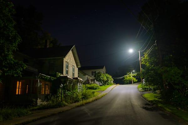 nocturne, vermont, photography, Vergennes, New England, nightscape,