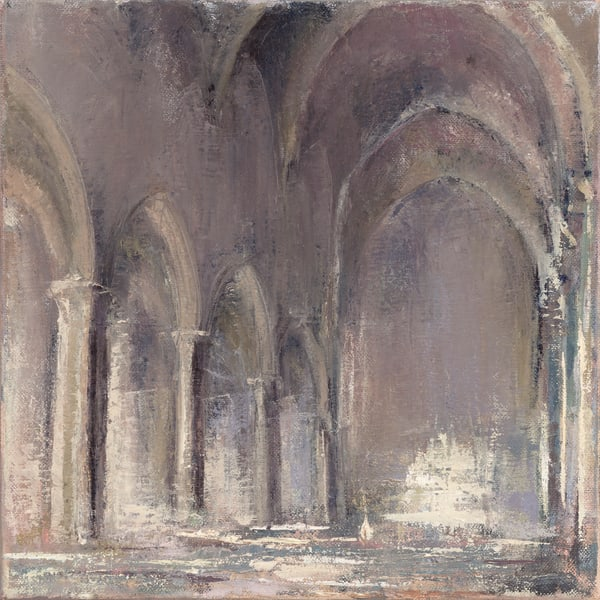 Square Sacred Architecture Painting