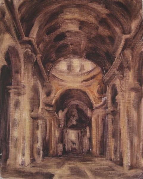 Study: Saint Peter's Basilica 8x10 Art | Michelle Arnold Paine Fine Art