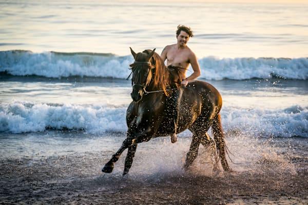 Surf Play Photography Art | HoofPrintsFineArt