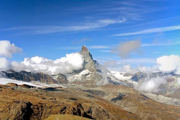 Peak of the Matterhorn photograph by Ivy Ho as fine art