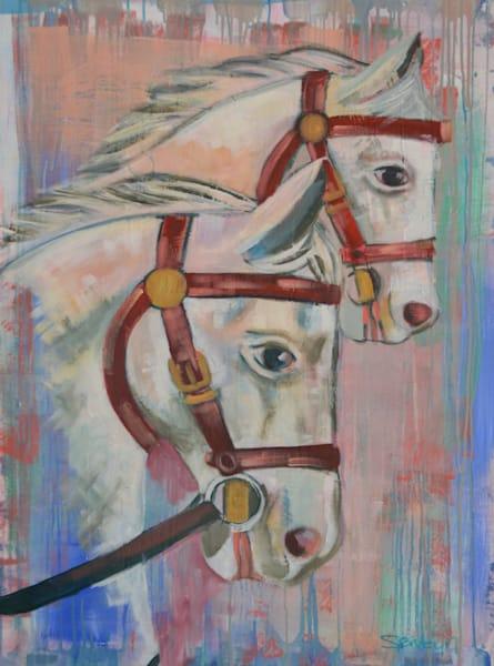 Horse Fine Art Paintings & Prints by Steph Fonteyn