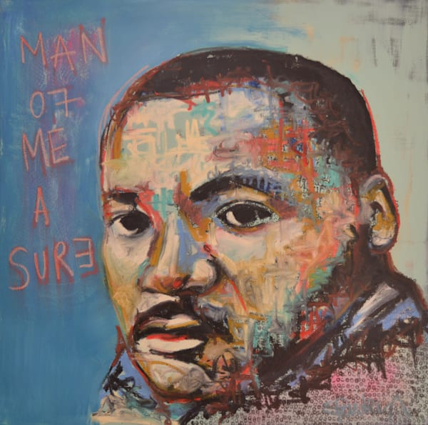 Martin Luther King Jr Original Art