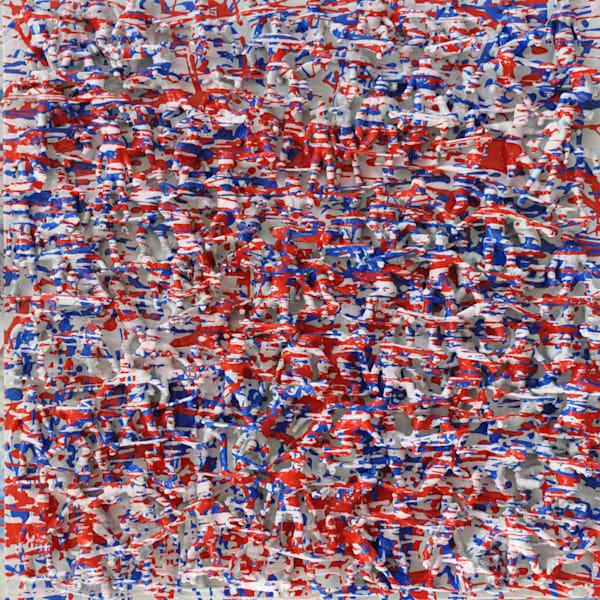 Red, White & Blue Art | Atelier Steph Fonteyn