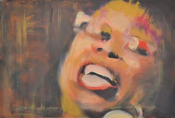 Jazz Paintings by Pop Artist Steph Fonteyn