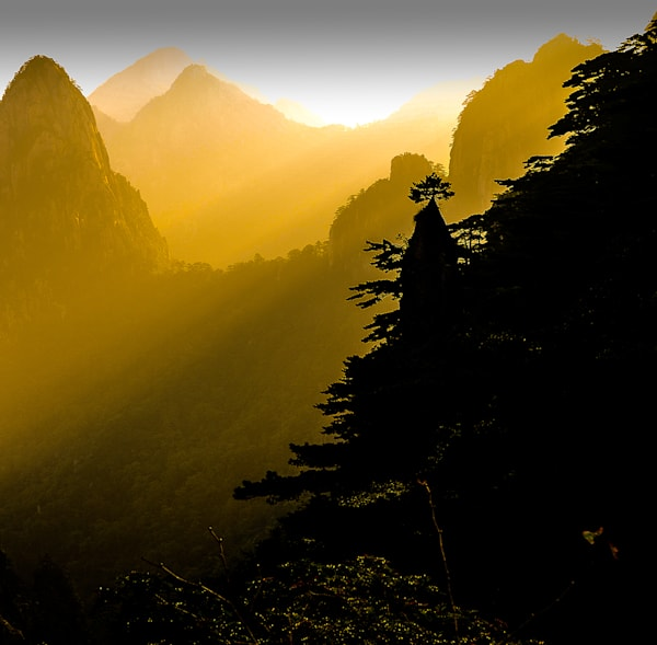 Silhoutte at Sunrise-China