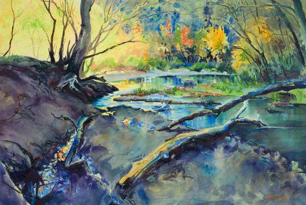 Creek meets River