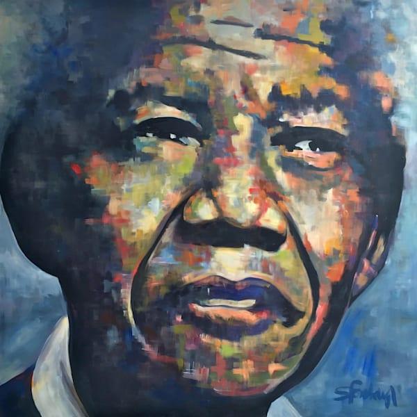 Nelson Mandela Art | Atelier Steph Fonteyn