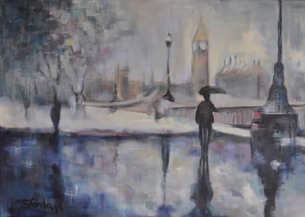 London Cityscape Paintings by Steph Fonteyn