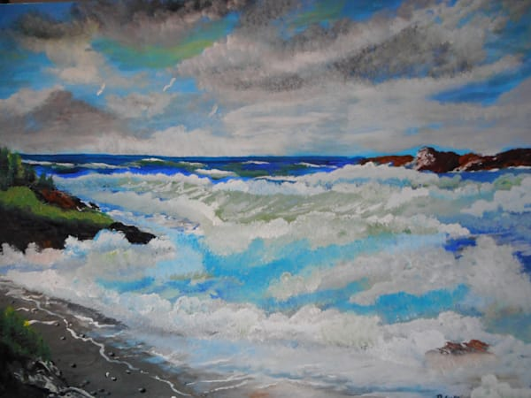 """Ocean Roar"" by Donald Cooper 