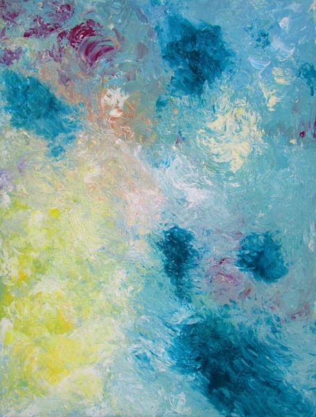 Abstract Acrylic Painting/Harmony #1/En Chuen Soo
