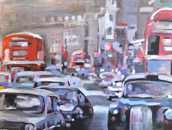 Rush Hour Art | Atelier Steph Fonteyn
