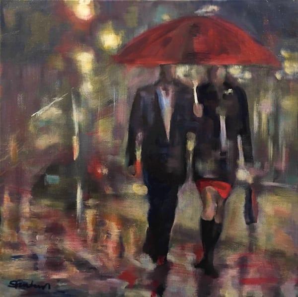 Red Umbrella Art | Atelier Steph Fonteyn