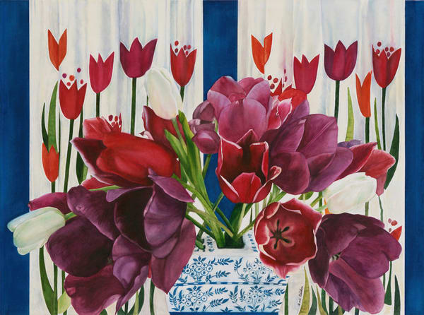 Bess Duston-Glorius Tulips