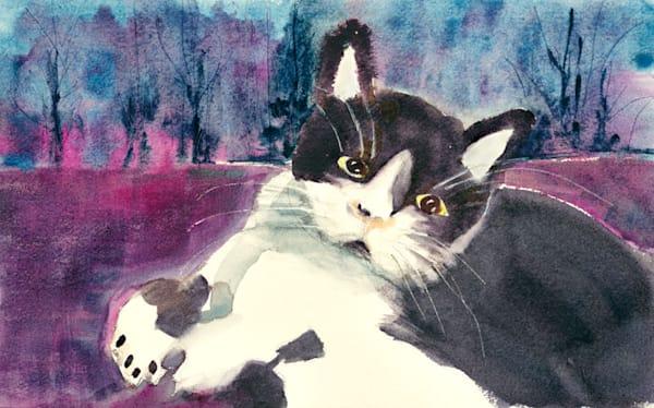 Josie print by Gayle Brunner.