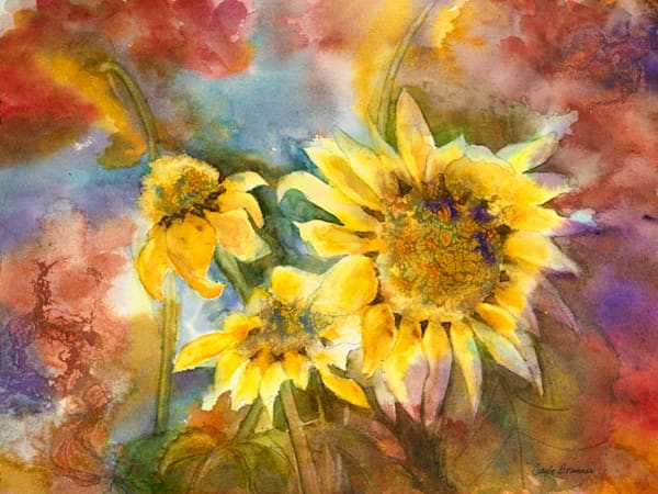 Summer Glory print by Gayle Brunner.