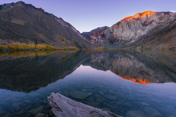 Convict Lake Alpenglow Print