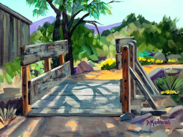 Bridge in Tombstone | Southwest Art | Tucson Gallery