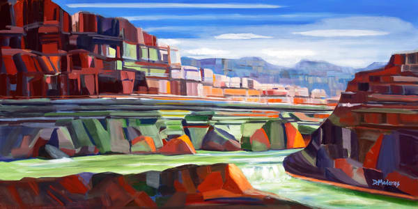 River in the Canyon | Southwest Art Gallery Tucson