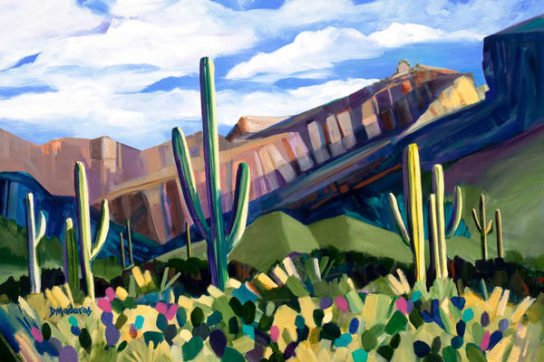 Thimble Peak | Southwest Art Gallery Tucson | Madaras