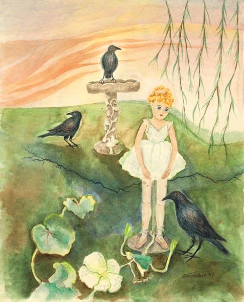 Judith Spielmacher watercolor art.