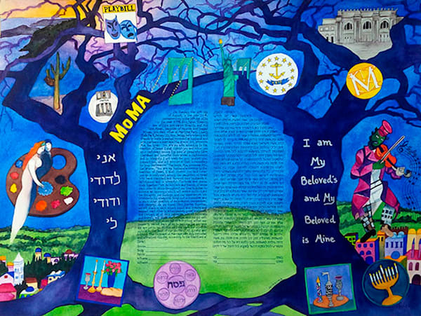 Trees, Chagall, Art & Judaism