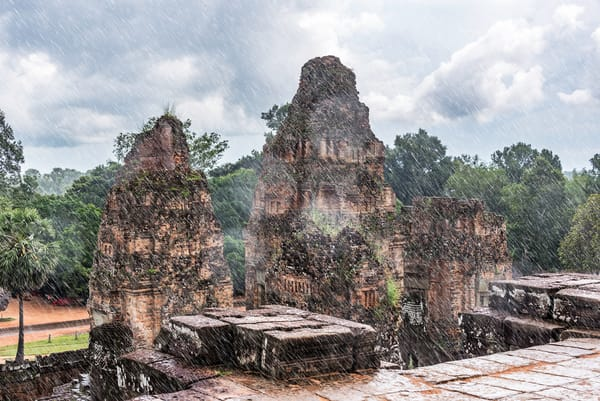 The Downpour | Cambodia | Temples | Susan J Photography