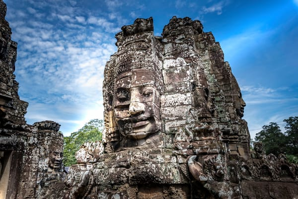 Face Me | Bayon Temple | Susan J Photography