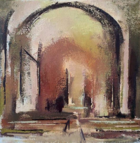 Riposo (Rest) 12x12 Original Oil Painting