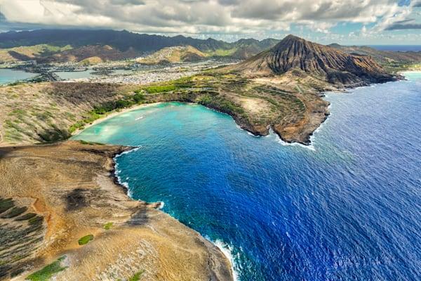 Hawaii Photography | The Mouth of Hanauma Bay by Peter Tang