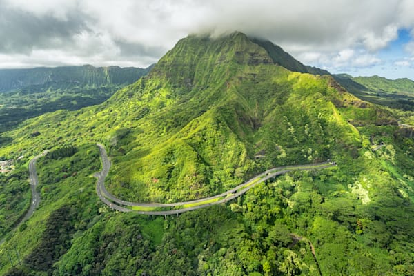 Hawaii Photography | The Belt Around the Ko'olau Summit by Peter Tang