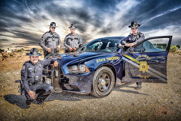 Nevada Highway Patrol Art | DanSun Photo Art