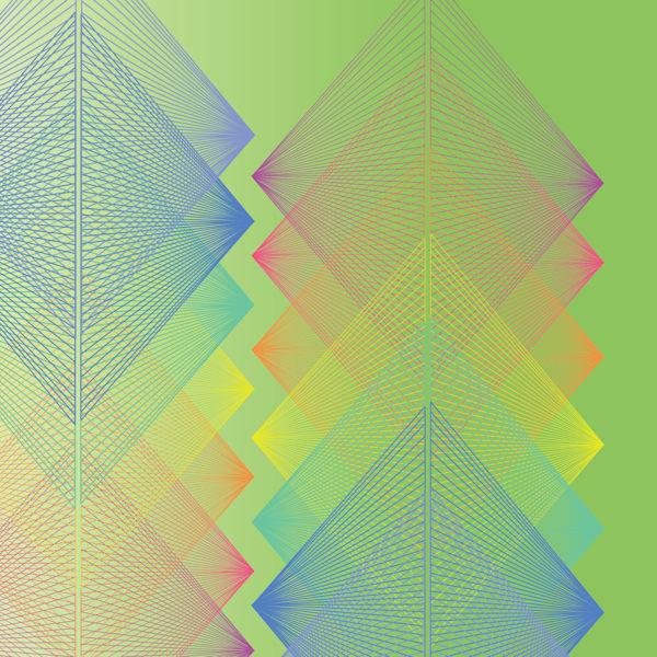 digital art, vortex, lime, graphic design, wall art