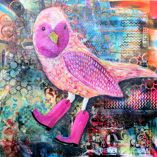 Bird In Boots Art For Sale