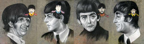 Four Beatles
