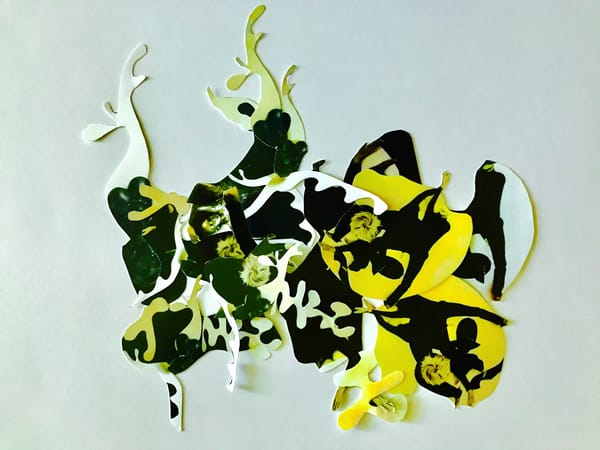 Odeta Xheka Visuals | Contemporary prints based on Hans Arp art